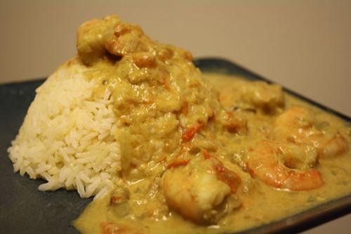 Sri Lankan whte curry