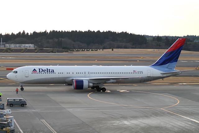 Delta B767-300ER(N175DZ)