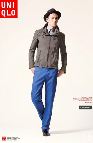 UNIQLO 0241_LOOK BOOK 2010 SPRING_Jakob Hybholt