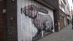 Roa 1 (tekstur) Tags: streetart rabbit london hoxton roa venticular