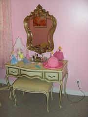 BEAUTIFUL VANITY (Petticoat Brenda) Tags: pink bedroom vanity sissy
