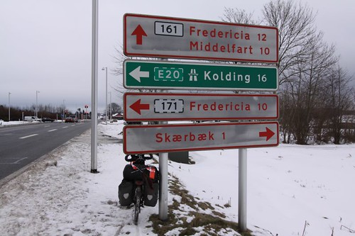 Getting very close to Middelfart...
