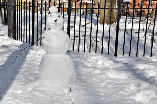 One in Five - Prospect Park Snowmen