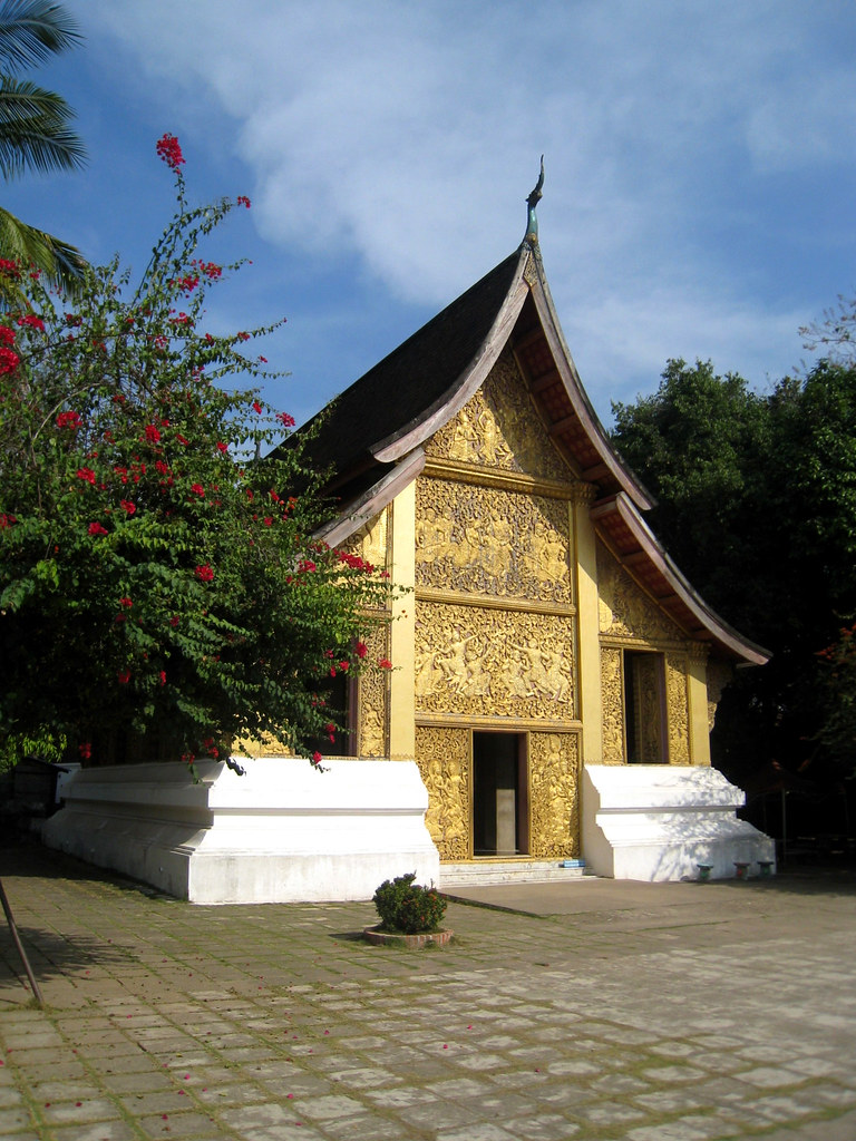 Pavillon du temple Vat Xieng Thong