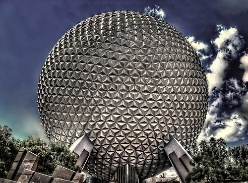 Epcot Ball - K.G.Photos