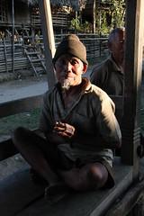 Local man in the village of Tigu, Arunachal Pradesh (sensaos) Tags: portrait people india face rural asia village native retrato traditional north culture tribal portrt east tribe portret ritratto cultural portre indigenous pradesh arunachal famke noord oost azi stammen daporijo tagin dumporijo sensaos