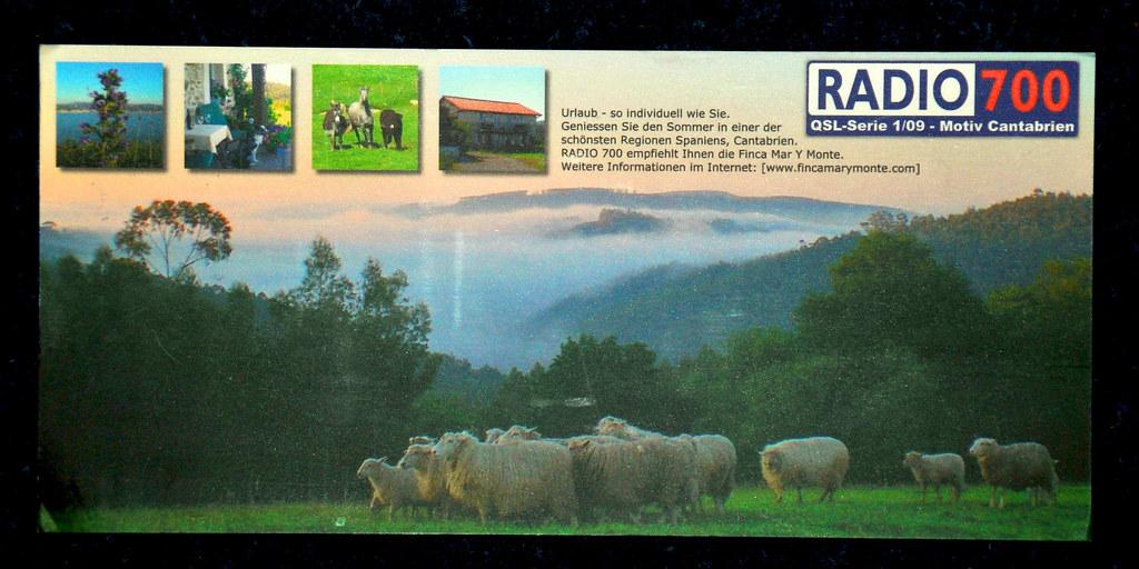 Radio 700 QSL card  952