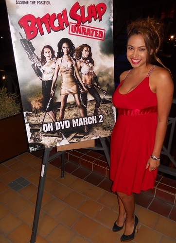 Nadia Dawn, Bitch Slap Movie Premiere