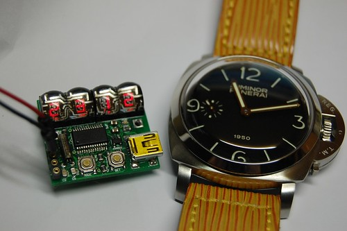 DIY LED Watch, Panerai PAM127