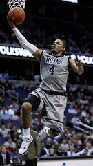 Georgetown's Chris Wright earlier this season (by: HoyaHoops.com)