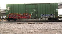(trentcall) Tags: graffiti utah trains saltlakecity wes freight harsh fs fose