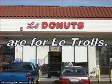 Le Donuts are for