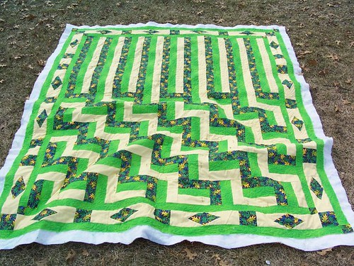 Waterfall Quilt prorgress