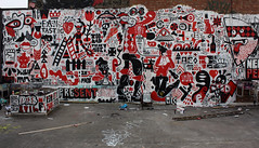 """THE FANTASTI 4 vs PUREEVIL"" (remed_art) Tags: streetart london art grafiti pureevil zbiok zbk 3ttman remed grems"