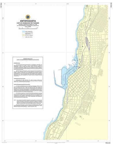 Carta de inundación Antofagasta