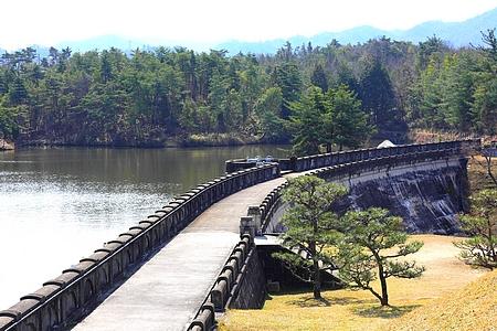 三永水源地 湖畔