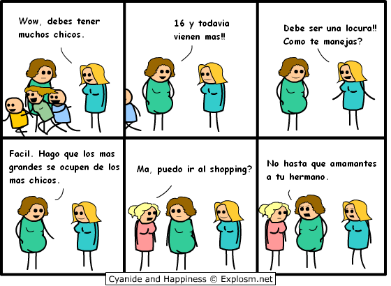 Cyanide & Happiness-Español