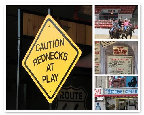 Redneck  Signs Mosaic