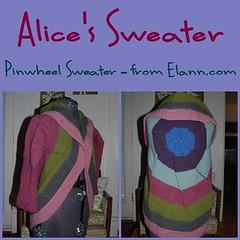 20100329 - Alice's Sweater