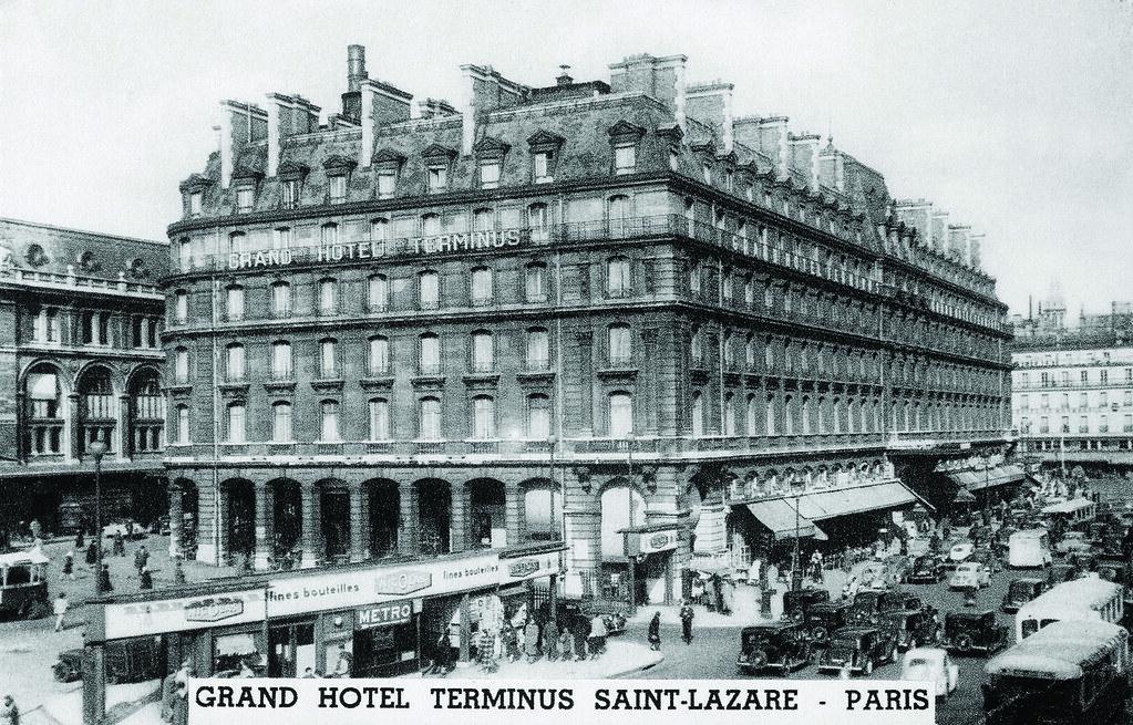 Facade Hotel Concorde Opéra Paris (formerly Grand Hôtel Terminus Saint-Lazare)