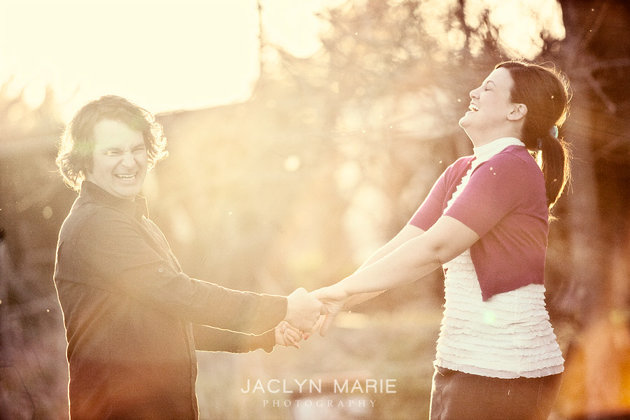 Jaclyn Marie Photography engagement photo