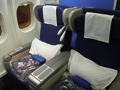 KLM Business class seats (orclimber) Tags: plane airplane class business seats klm md11