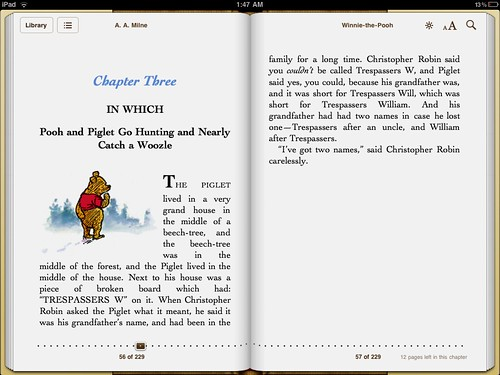 Typography on iPad