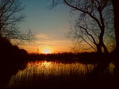 Moekesgat (Jos Mecklenfeld) Tags: sunset ericsson sony cellphone mobilephone groningen terapel westerwolde w995 sonyericssonw995 moekesgat