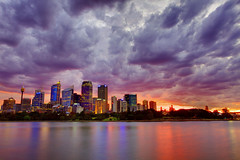 Stormy Sunset in Sydney (Scott Pudwell) Tags: sunset twilight sydney australia