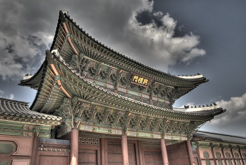 Gyeongbok Palace in HDR