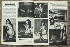 IMG_4641 (Fabulous Marvelous Scandalous) Tags: blackandwhite color sexy feet stockings vintage mediumformat magazine nude photography foot high toes breast tits boobs sneakers thigh thighs 1967 heels californiagirls elmer sneaky succulant nylons vol1 no7 batters elmerbatters royalorderofthegarter skirtsthatflirt