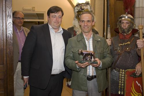 Uitreiking zesde Romulus-prijs door Bart de Wever