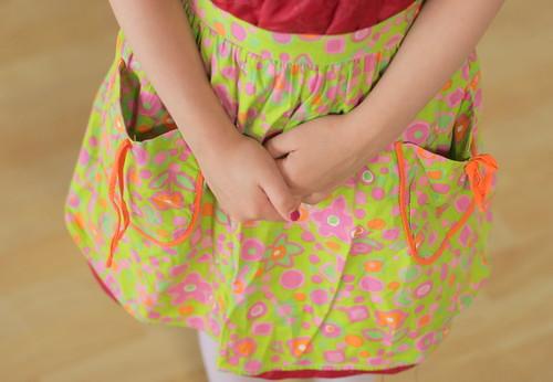 Vintage children's apron