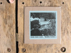"Justin Rhody/Sam Gas Can - Split  7"" - Faux Pas (Sam side)"