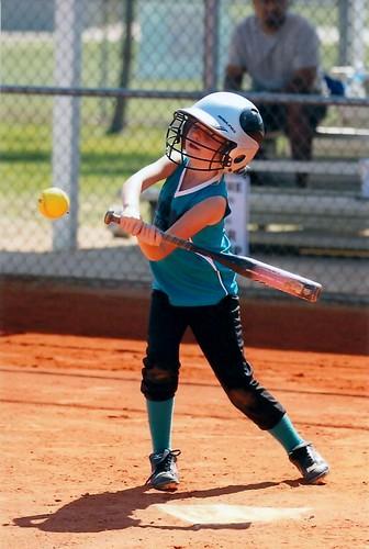 Nicole batting