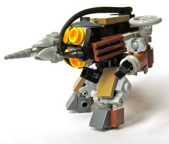 Big Daddy left side (Imagine) Tags: toy lego videogame minifig littlesister mech bigdaddy moc bioshock imaginerigney