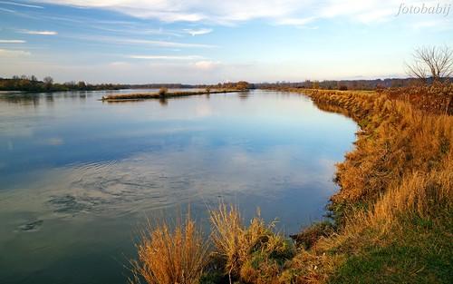 Kazimierski Park Krajobrazowy, Wisła jesienią  6