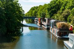 Hamburg-20120527-DSC_1344.jpg (coolmpr) Tags: hausboot laubbaum barmbek gehölz kanal hamburg deutschland de