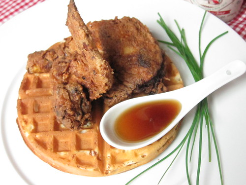 (Thomas Keller Fried) Chicken and Waffles