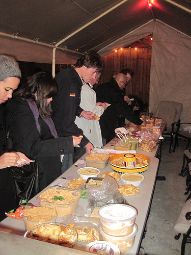 Attendees judge 13 different hummuses in Hummus Cook-Off