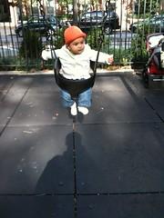 Laila swinging
