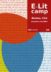 E-Lit Camp 2009 Poster