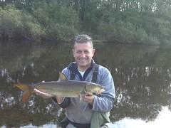 herb & nice barbel (uskgrub) Tags: uk river fun fire al fishing chub barbel gunner herb steaks burnie wye
