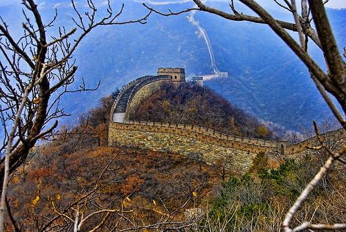 フリー写真素材, 建築・建造物, 遺跡, 万里の長城, 世界遺産, 中華人民共和国, HDR,