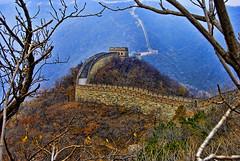 [フリー画像] 建築・建造物, 遺跡, 万里の長城, 世界遺産, 中華人民共和国, HDR, 201009101700
