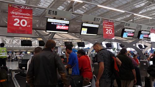 Suvarnabhumi airport スワンナブーム3