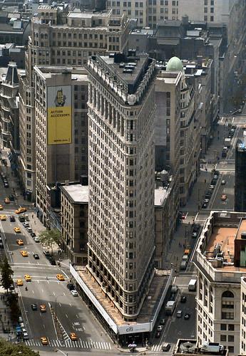 """Иконы Нью-Йорка: Небоскреб """"Утюг"""" (Flatiron)"""