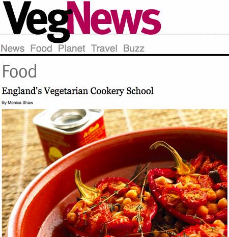 VegNews: England's Vegetarian Cookery School