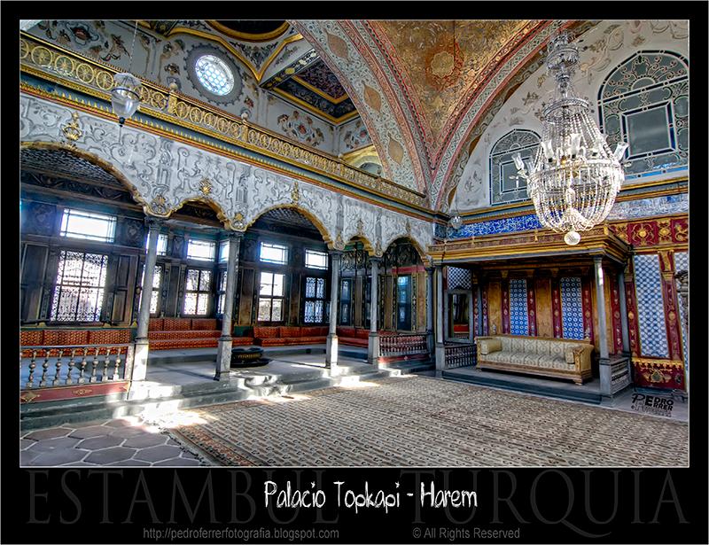 Palacio Topkapi - Harem