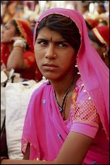 Pensive.. (Hema Narayanan) Tags: pushkar rajasthan camelfair thardesert pushkarcattlefair pushkarfair2009 pushkarfestivalof2009 cattlefairatpushkar